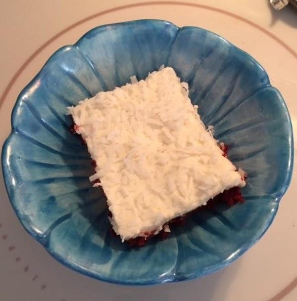 Red Velvet Sheet Cake With Buttercream Frosting Recipe
