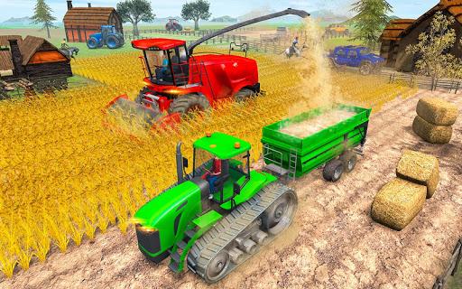 Modern Tractor Farming Simulator: Offline Games screenshots 18
