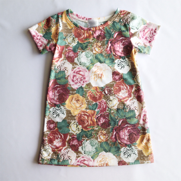 Little Flora (Floral print dress) by Precious Lullaby