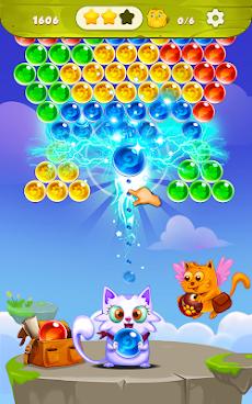 バブルシューター:無料猫ポップゲーム2019のおすすめ画像1