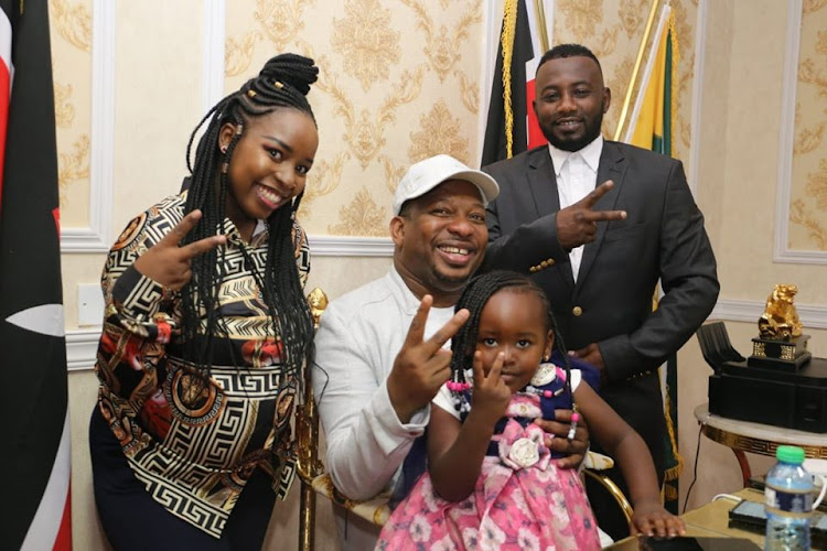 Saumu is expecting a baby girl, says Sonko