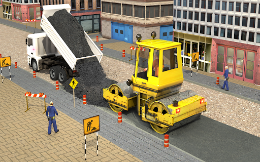 Excavator Simulator - Construction Road Builder 1.0.1 screenshots 10