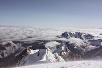 Photo: Ze szczytu Mt Blanc.