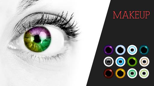 玩免費攝影APP|下載메이크업 헤어와 눈동자 색 app不用錢|硬是要APP
