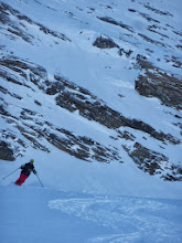 Photo: Stephen over the Col Pers