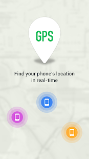 GPS Phone Tracker Screenshot