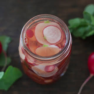 How to Quick Pickle Radishes.