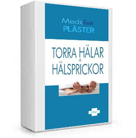 Hälplåster Plåster för Fötter med Hälsprickor Spruckna Torra Såriga Hälar  + Ointment