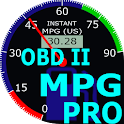 OBDII Car MPG Pro (Gasoline) icon