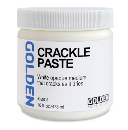 Golden 237ml Crackle Paste