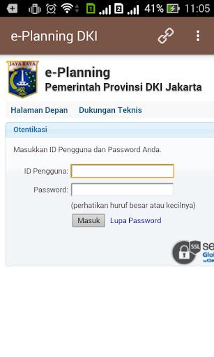 e-Planning DKI Jakarta