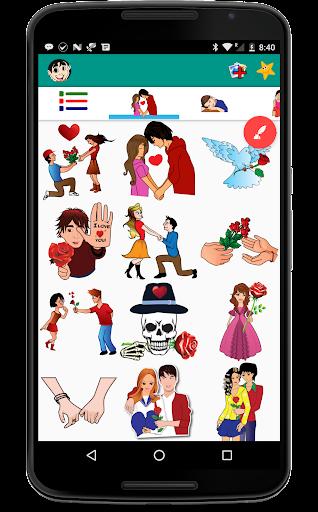 Love Stickers For Whatsapp 4.1 screenshots 2