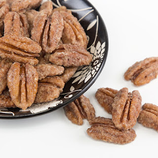 Pan Roasted Candied Pecans