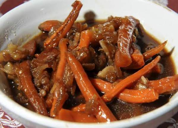 Slow Cooked Apricot-pineapple Carrots
