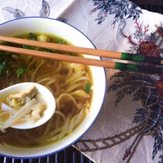 Healing Vietnamese Style Chicken Noodle Soup