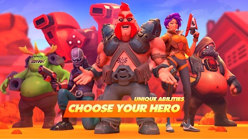 Screenshot 1 Mad Heroes v0.9962 APK MOD