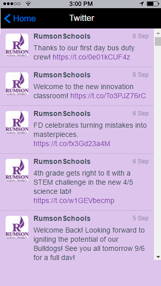Rumson School District 2- screenshot