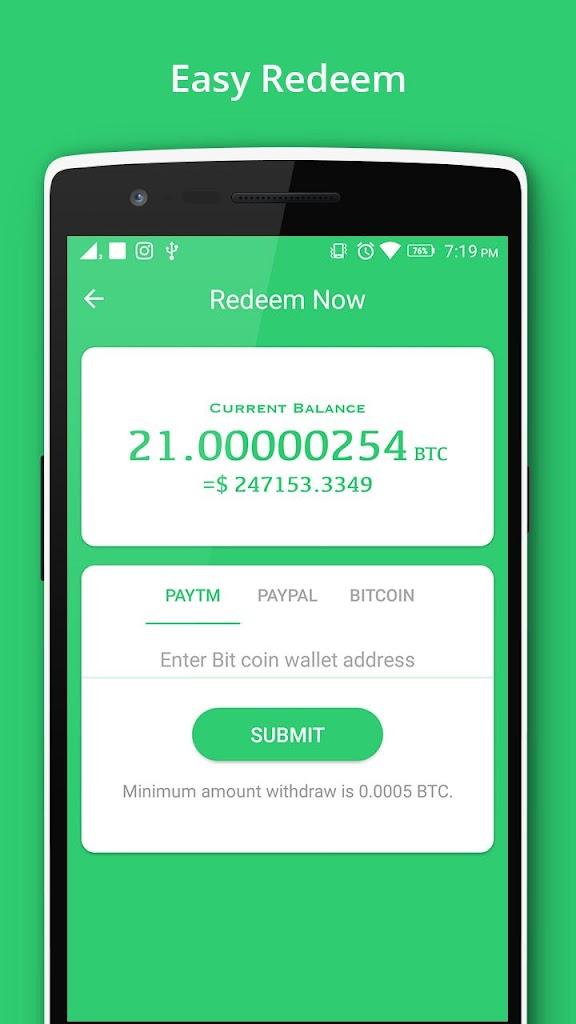 braccio minatore bitcoin pro apk
