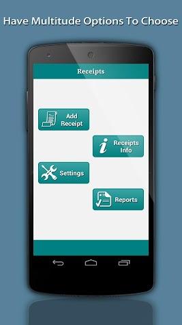 Receipts InBox Screenshot