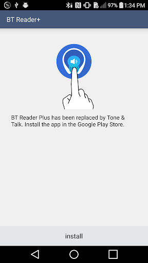 LG BT Reader Plus screenshot 1