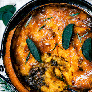 Mushroom and Pumpkin Shepherd'S Pie Recipe