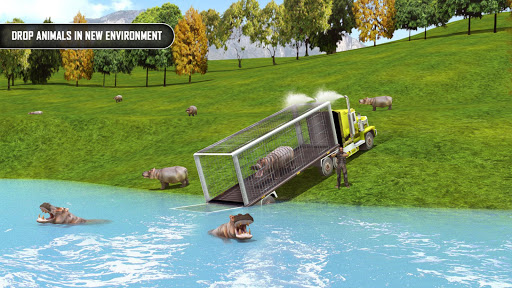 Animal Transporter Offroad Drive screenshots 4