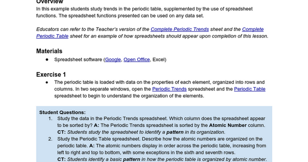 Patterns in the periodic table deprecated google docs urtaz Images