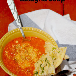 Crock Pot Leftover Lasagna Soup