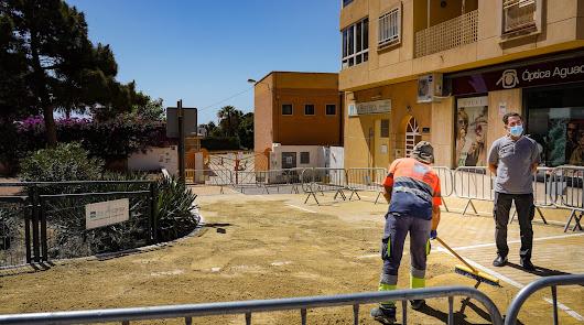 Más accesibilidad para el entorno de los colegios Arco Iris y Blas Infante