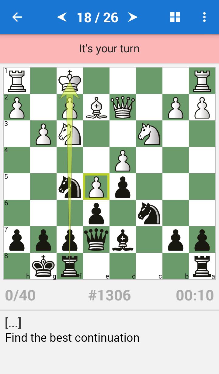 Chess Strategy & Tactics Vol 2 (1800-2200 ELO) Screenshot 1
