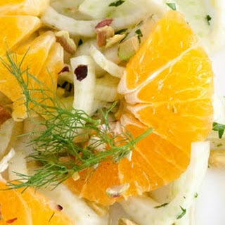 Fennel Citrus Salad with Honey Mint Dressing