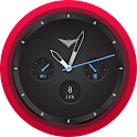 Alpha Black Android Watch Face icon