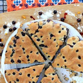 Gluten-Free Wild Blueberry Orange Scones.