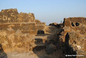 Photo: Fortification on Rajgad Balle Killa
