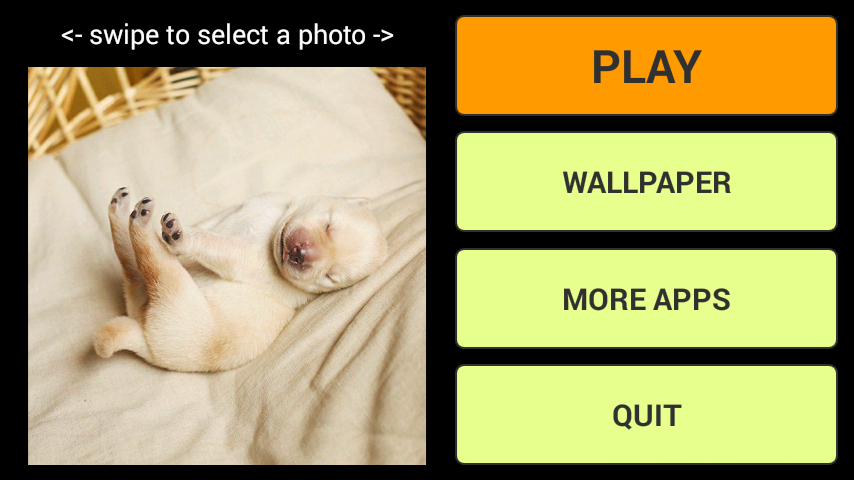 android Hübsche Tiere Puzzle + LWP Screenshot 0