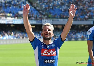 Blufpoker tussen Mertens en Napoli, Inter en Dortmund wachten af