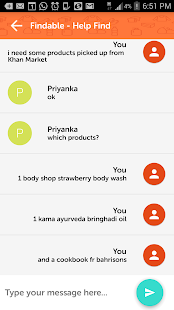Chat With Shopping Assistants- screenshot thumbnail