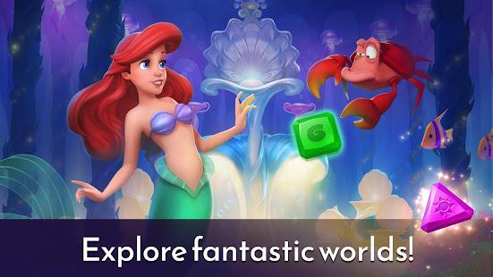 Game Disney Princess Majestic Quest: Match 3 & Decorate APK for Windows Phone