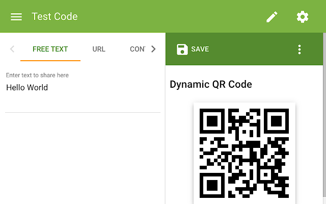 The qr code generator chrome web store fandeluxe Images