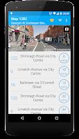 Screenshot of Next Bus Dublin