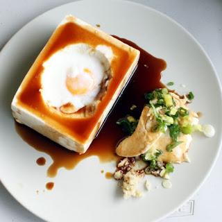 Tofu with Hot Spring Egg (Onsen Tamago)