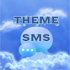 Clouds Sky Theme GO SMS icon