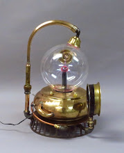 Photo: plasma ball steampunk