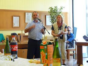Photo: discour du maire de Gisors