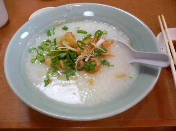 Crispy Chicken Congee Recipe