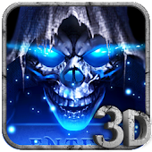 3D Grim Reaper Theme Icon