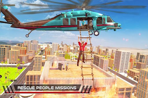 US Helicopter Rescue Simulator Missions 2018u2708ufe0f screenshots 3