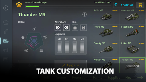 Tanki Online - PvP tank shooter apkpoly screenshots 6