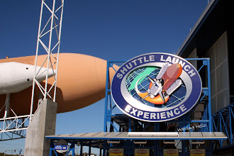 Photo: Space Center ride - look for Trevor directly under the sign