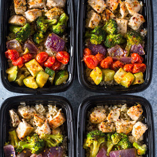 Meal Prep - Healthy Chicken and Veggies Recipe